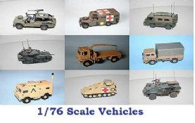 Vehicles 1-76 Scale